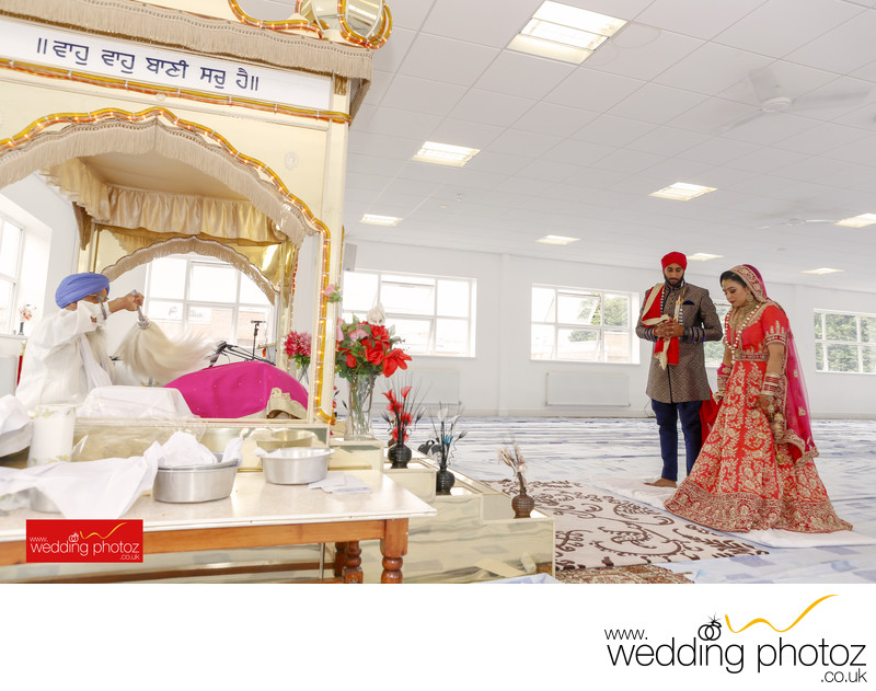 Sikh Wedding Photography Birmingham Gurudwara