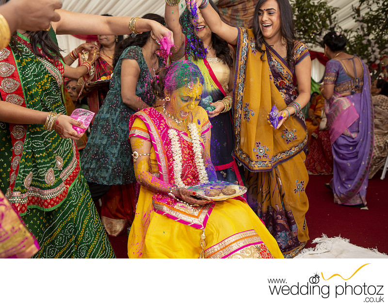 Pithi Pre-wedding Ceremony Photography