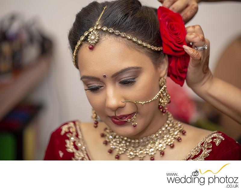Indian Bridal makeup photography - Asian Wedding Photography