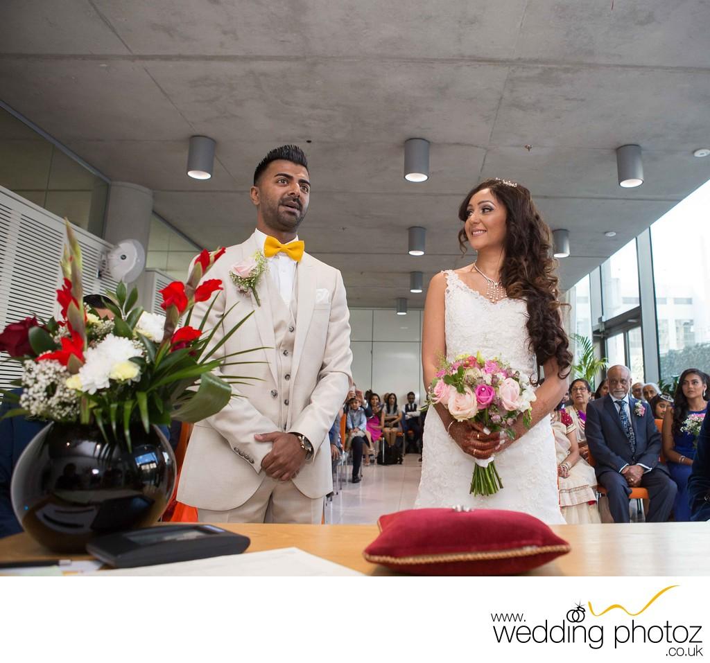 Civil Wedding Photography: Civil Wedding At Brent Town Hall