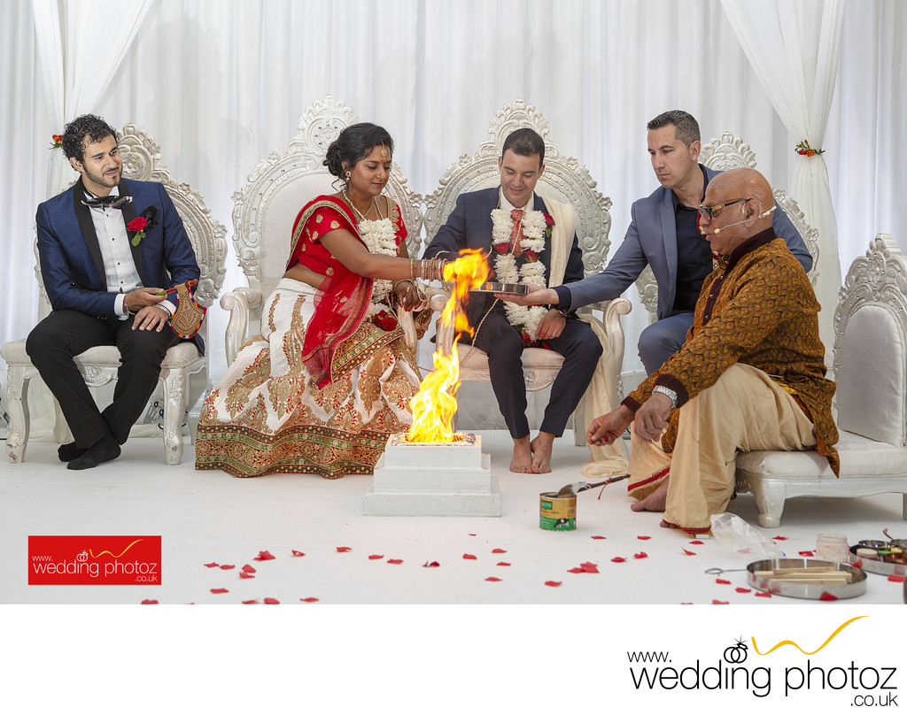 Indian Wedding at Tewin Bury Farm Hotel