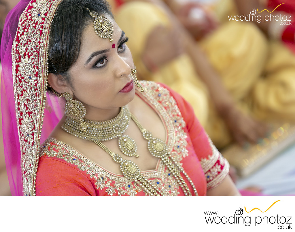 Punjabi Bride at her Wedding