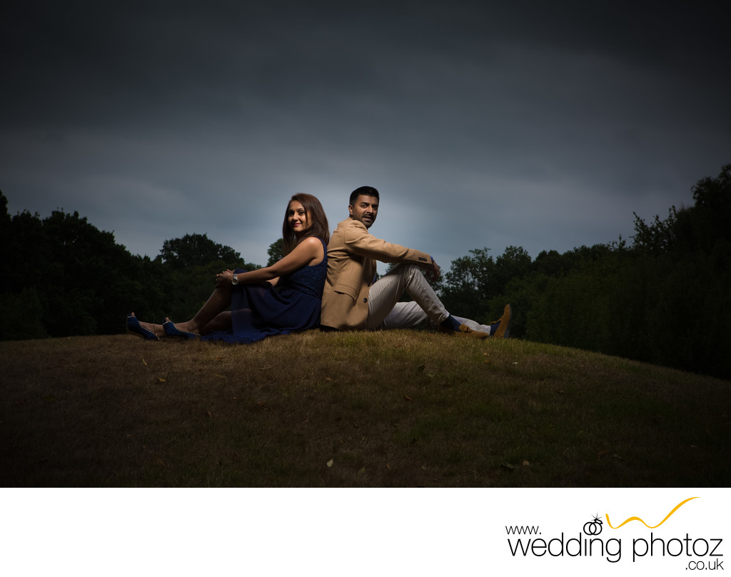 Engagement photography Watford Golf club