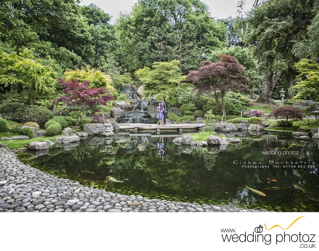 Holland Park engagement photography London