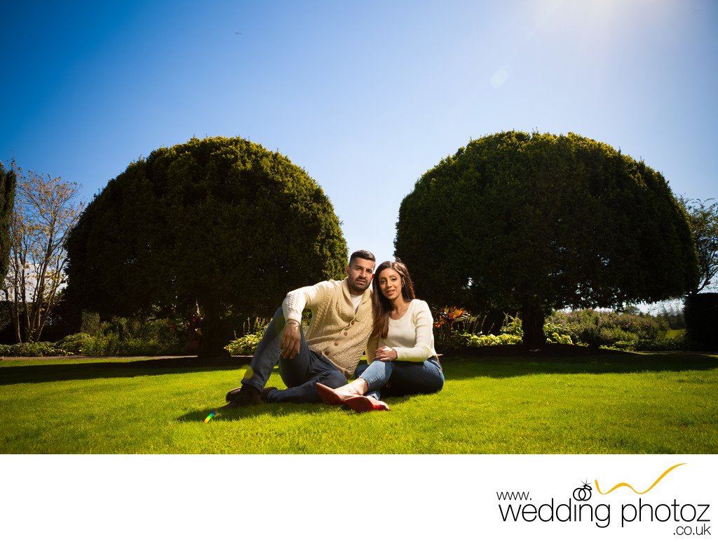 Prewedding Engagement photography at The Grove, Watford
