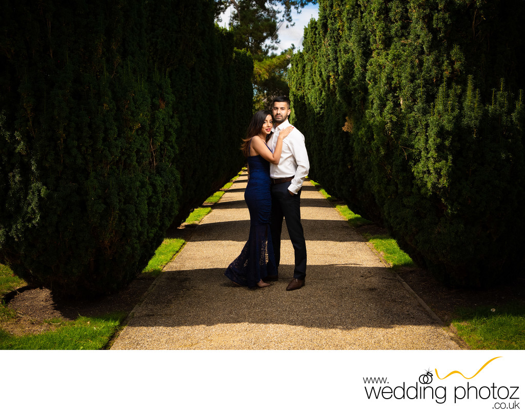 Couple Pre-Wedding Photography at The Grove, Watford