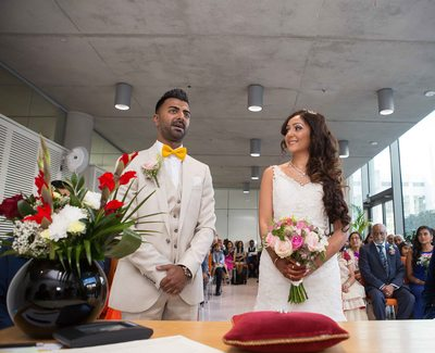 Civil Wedding at Brent Town Hall
