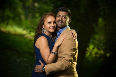Pre-wedding photoshoot cassiobury park watford