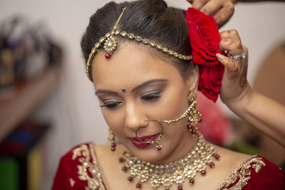 Indian Bridal makeup photography