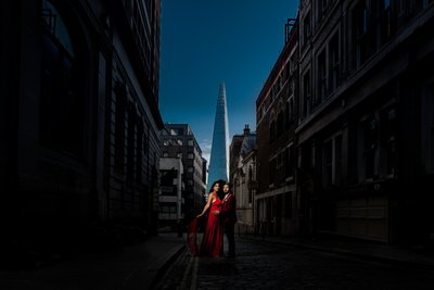 engagement photography london shard