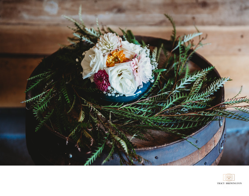Wedding detail at Terian Farms