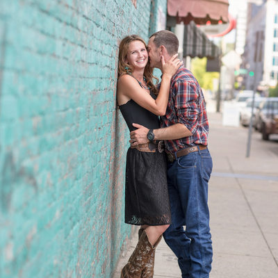 Downtown Nashville Engagement Photographers