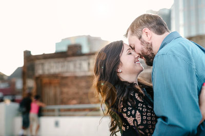 Downtown Nashville Engagement photography