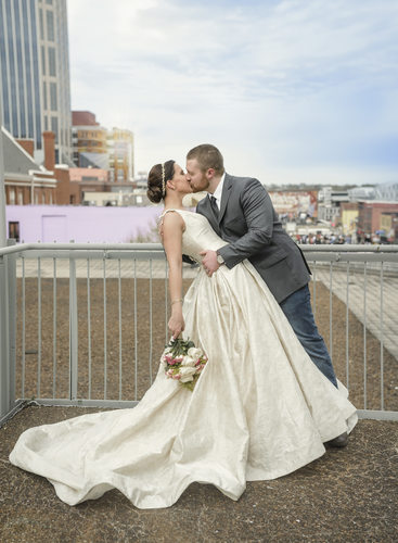 Nashville Wedding Photographer downtown Nashville