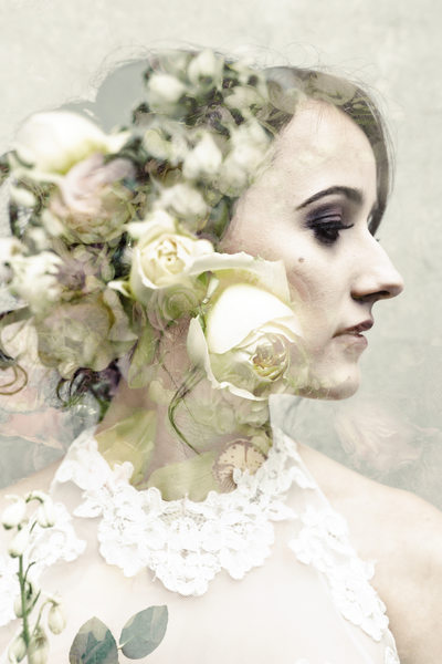 Fine Art Portrait of a bride in Nashville TN