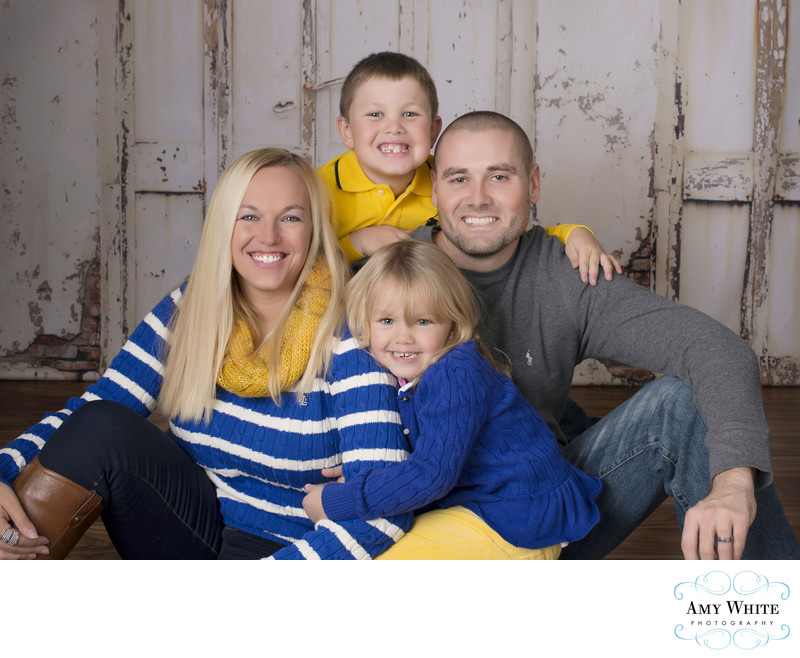 Family photos in Cedar Rapids
