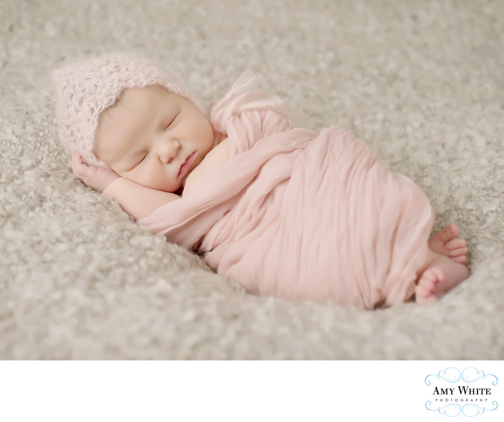 Newborn baby girl Cedar Rapids photographer