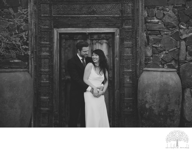 Korakia Pensione Wedding Photographer Palm Springs Ca