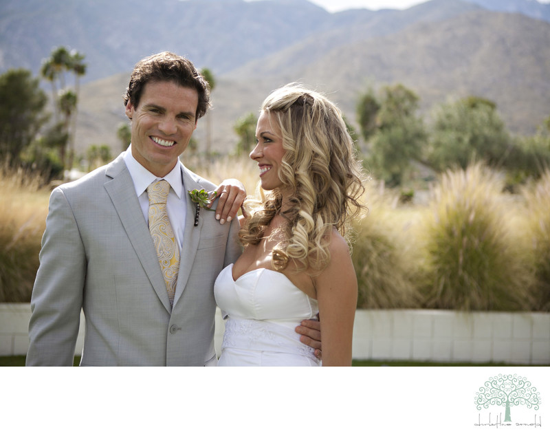 Palm Springs photographer Indian canyon wedding