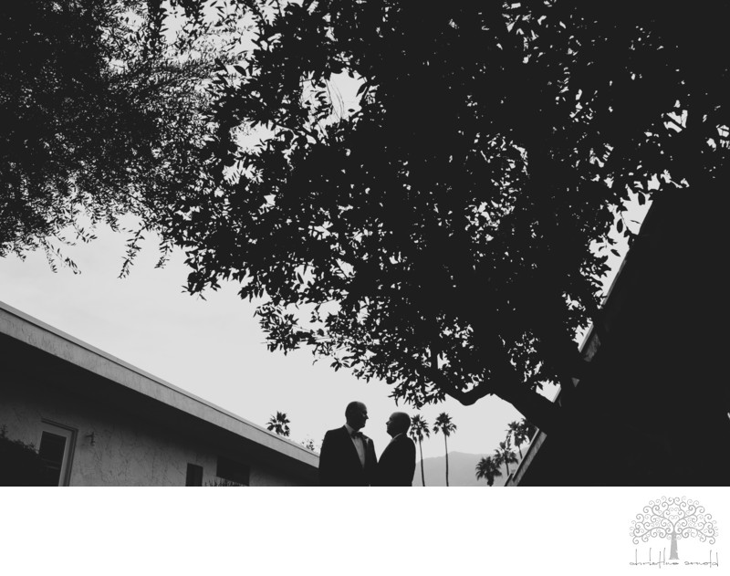 Same Sex Wedding photographer Palm Springs Portraits