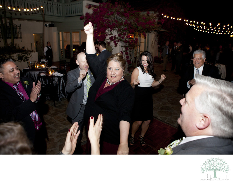Palm Springs Wedding reception photography