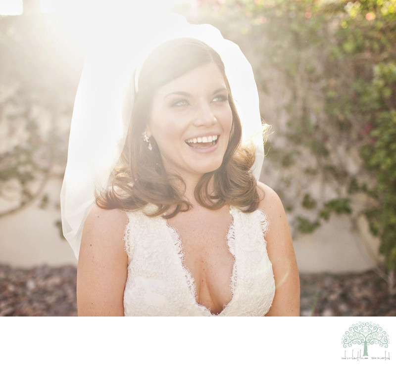 Artistic bridal portraits Palm Springs photographer