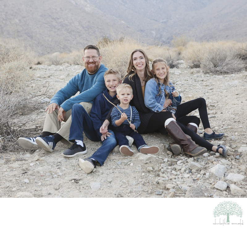 Family photography, Palm Springs California