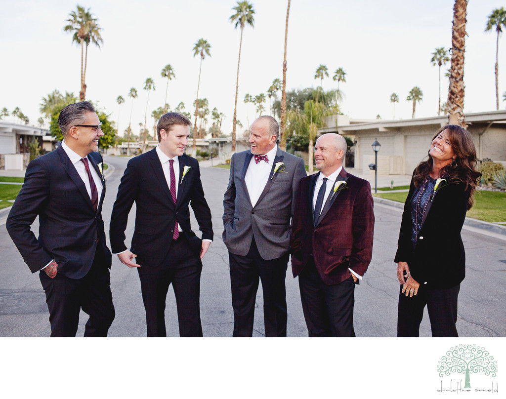 Palm Springs California Gay wedding photos