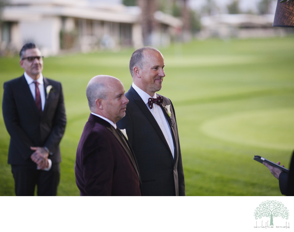 Palm Springs Same Sex wedding California