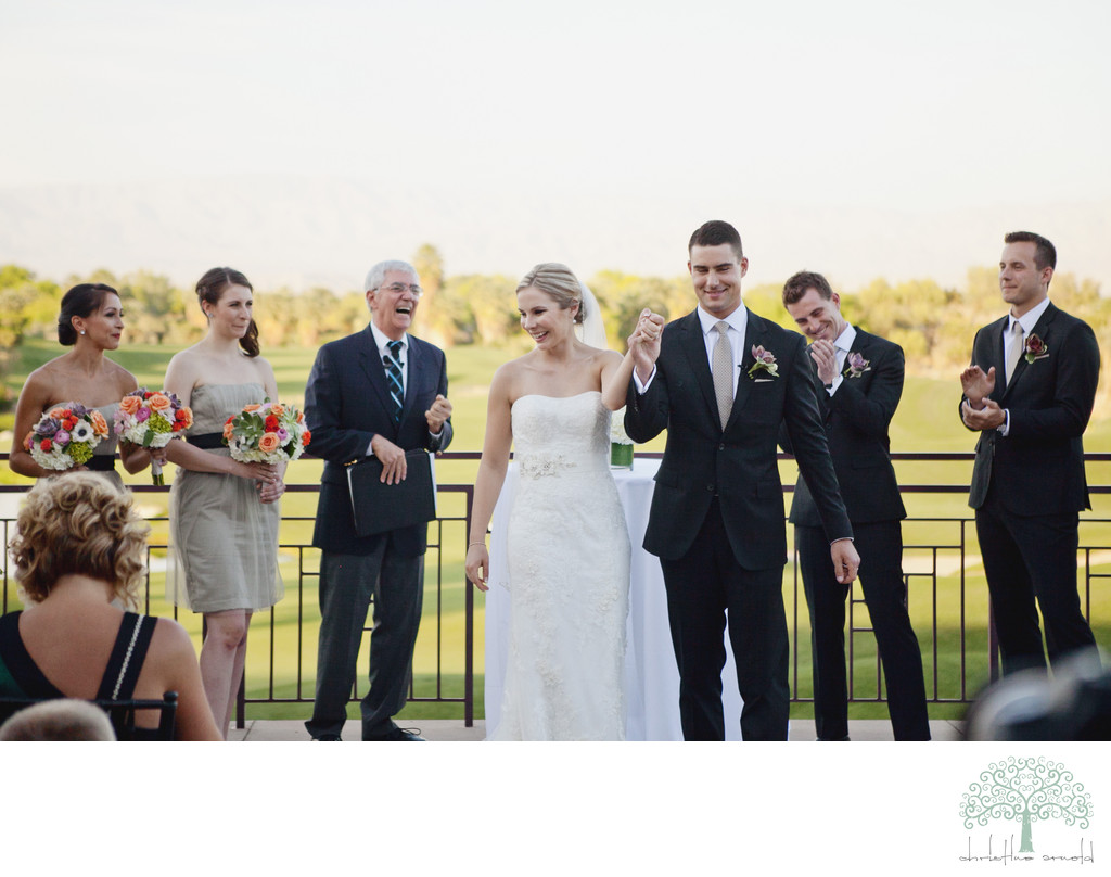 Outdoor weddings Palm Desert California