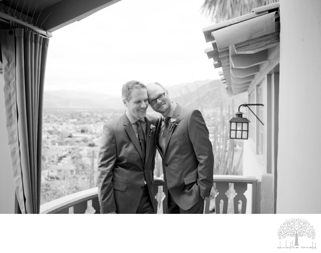 Coachella Valley California LGBT Wedding Photographer