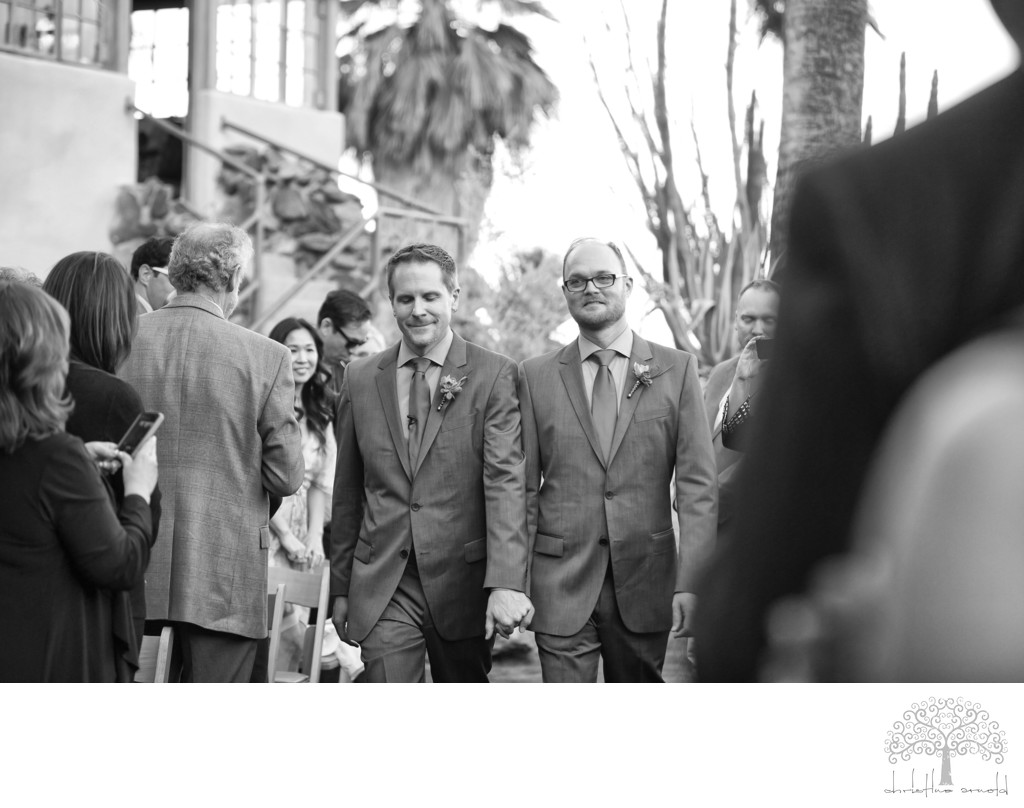 Best Same Sex wedding photographer California