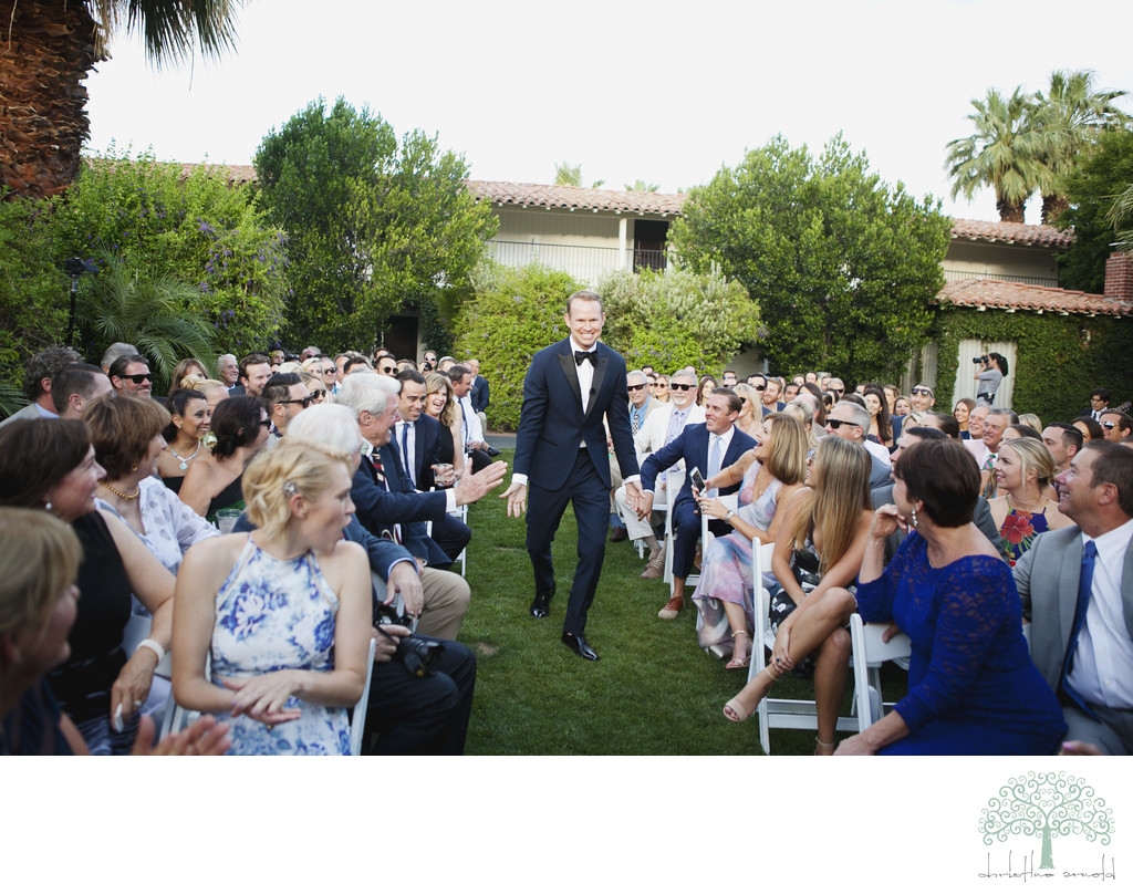 Wedding ceremony photographer Colony Palms