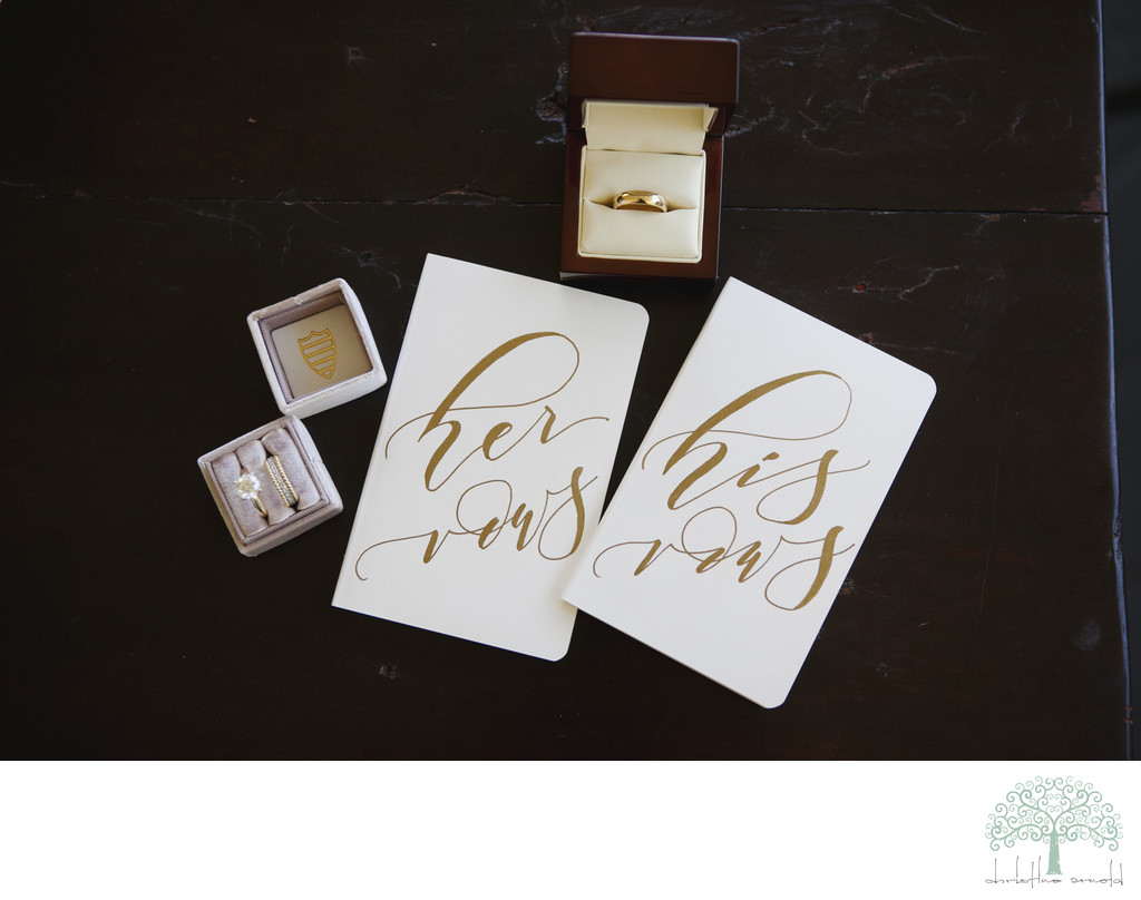 Colony Palms Hotel wedding rings