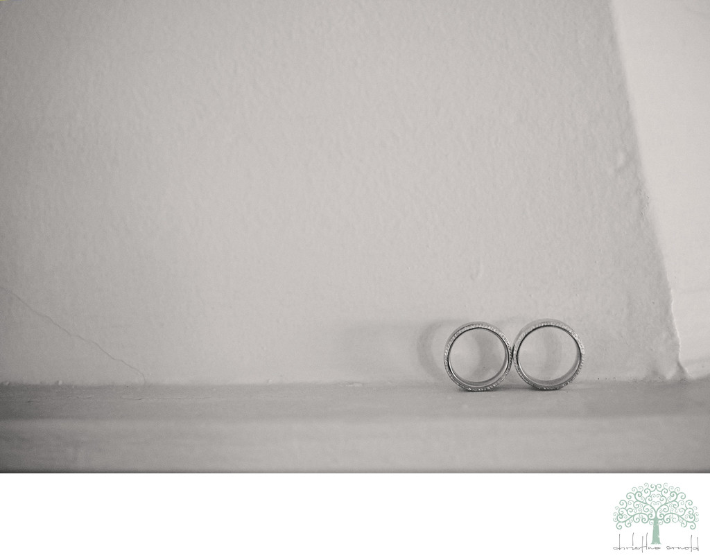 Grooms rings O'Donnell House, Palm Springs California