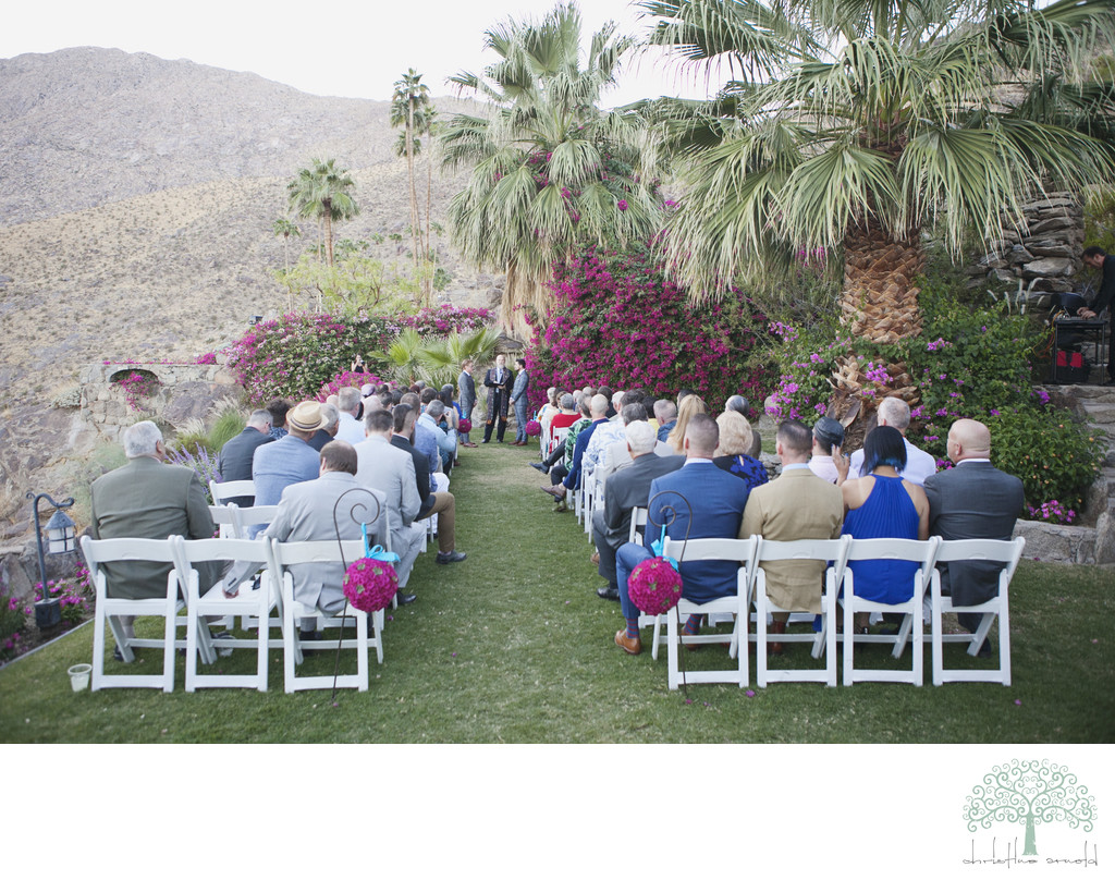 Best O'Donnell House wedding photographer Palm Springs