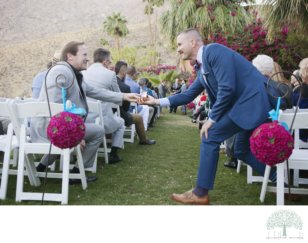 Best Palm Springs ceremony photographer