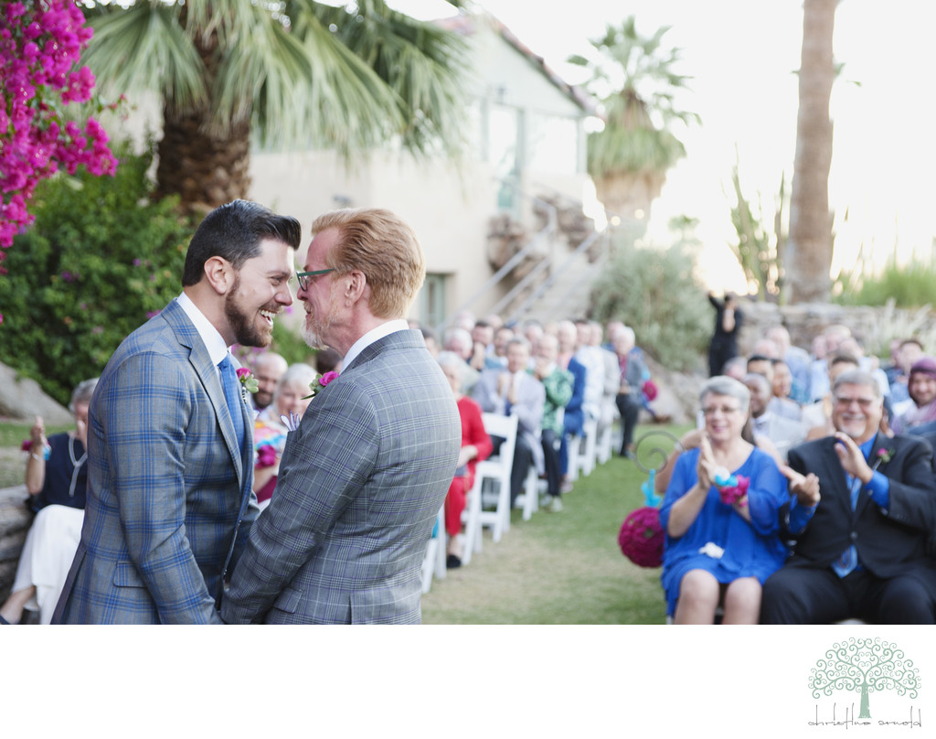 Best O'Donnell House same sex wedding photos
