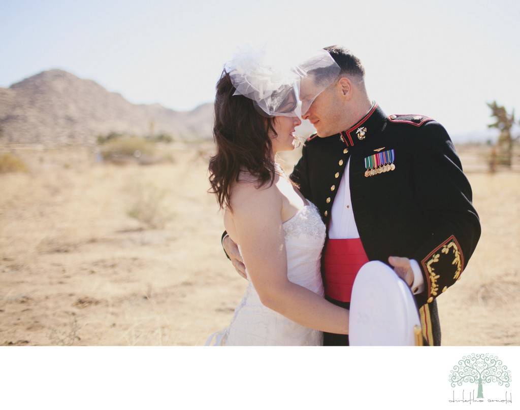 Palm Springs Military Wedding Photographer