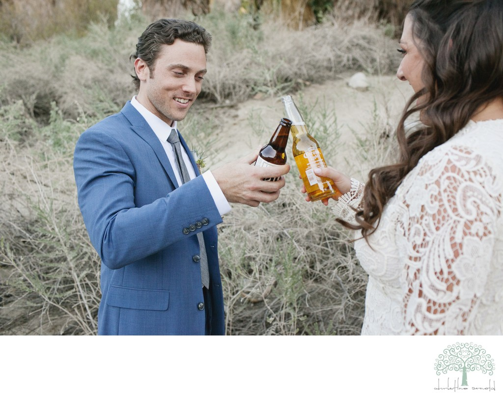 Casual Wedding / Elopement Photography in Palm Springs