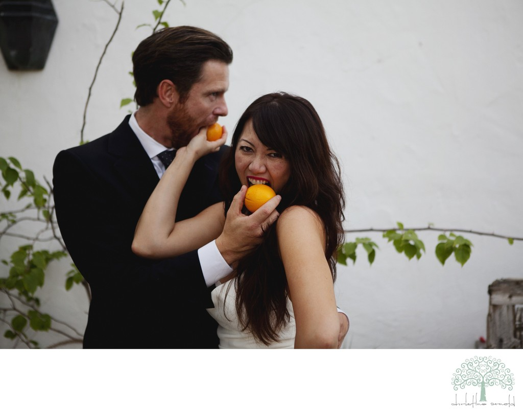 Fun Elopement Photos in Palm Springs, CA