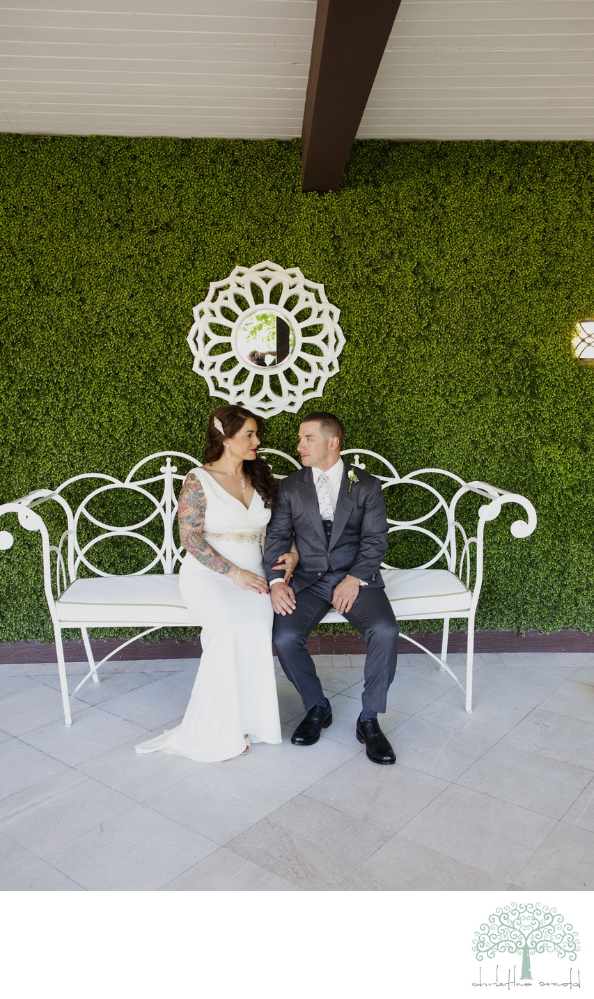 Best Riviera Hotel Palm Springs wedding photographer