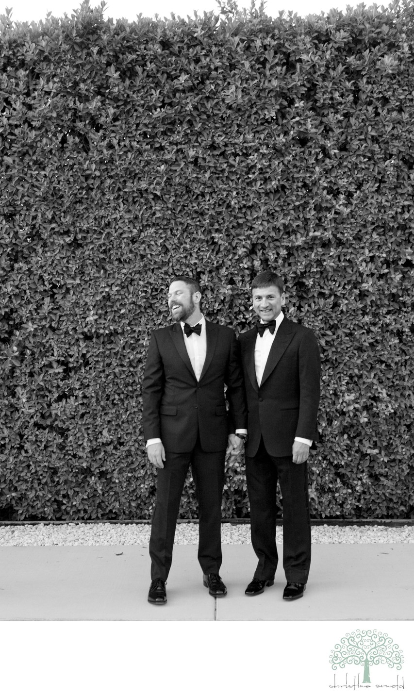 Two Grooms Wed in Palm Springs, CA