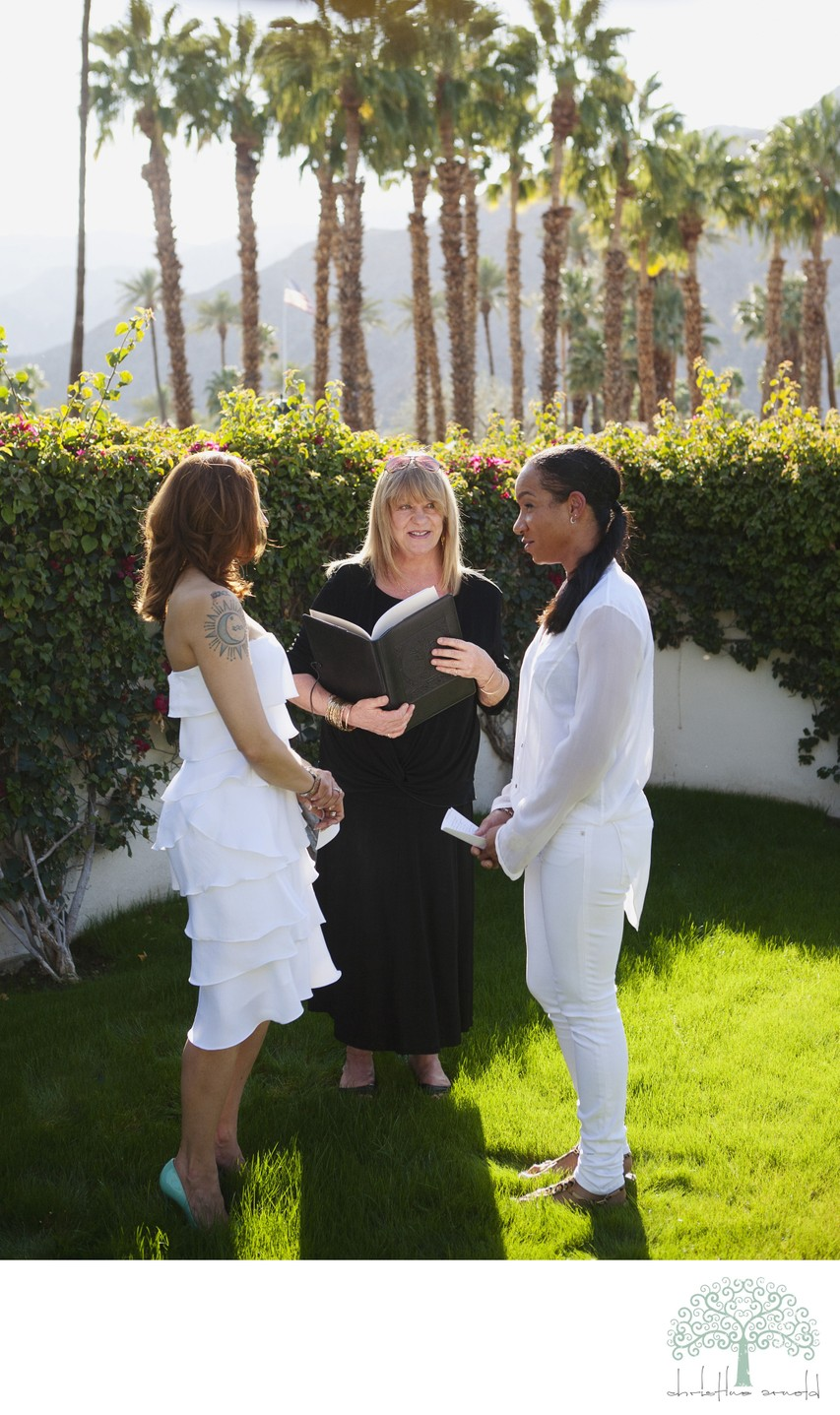 Elopements in Palm Springs and the Coachella Valley