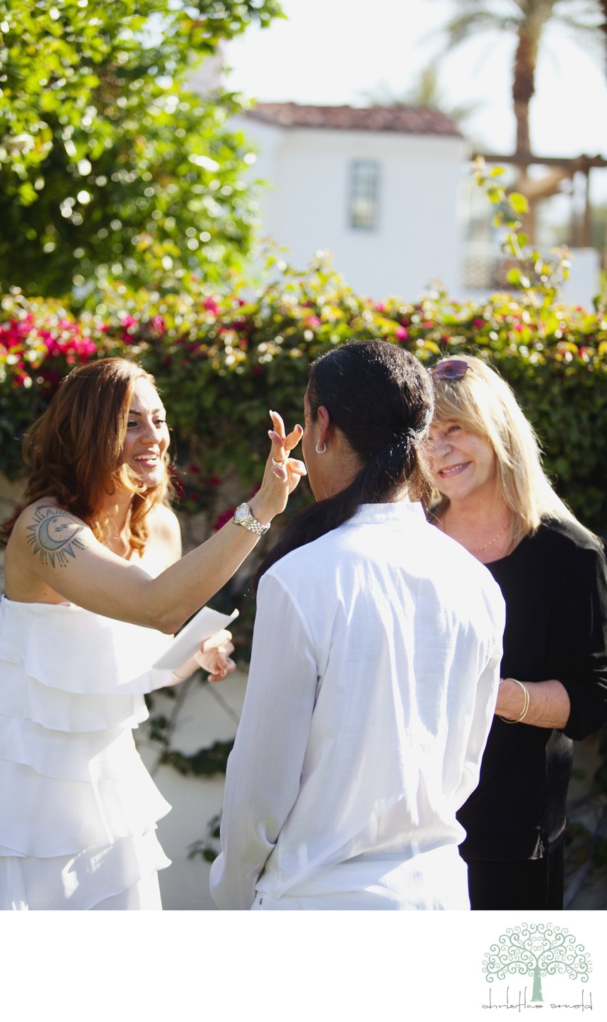 Photojournalism for Coachella Valley Elopements
