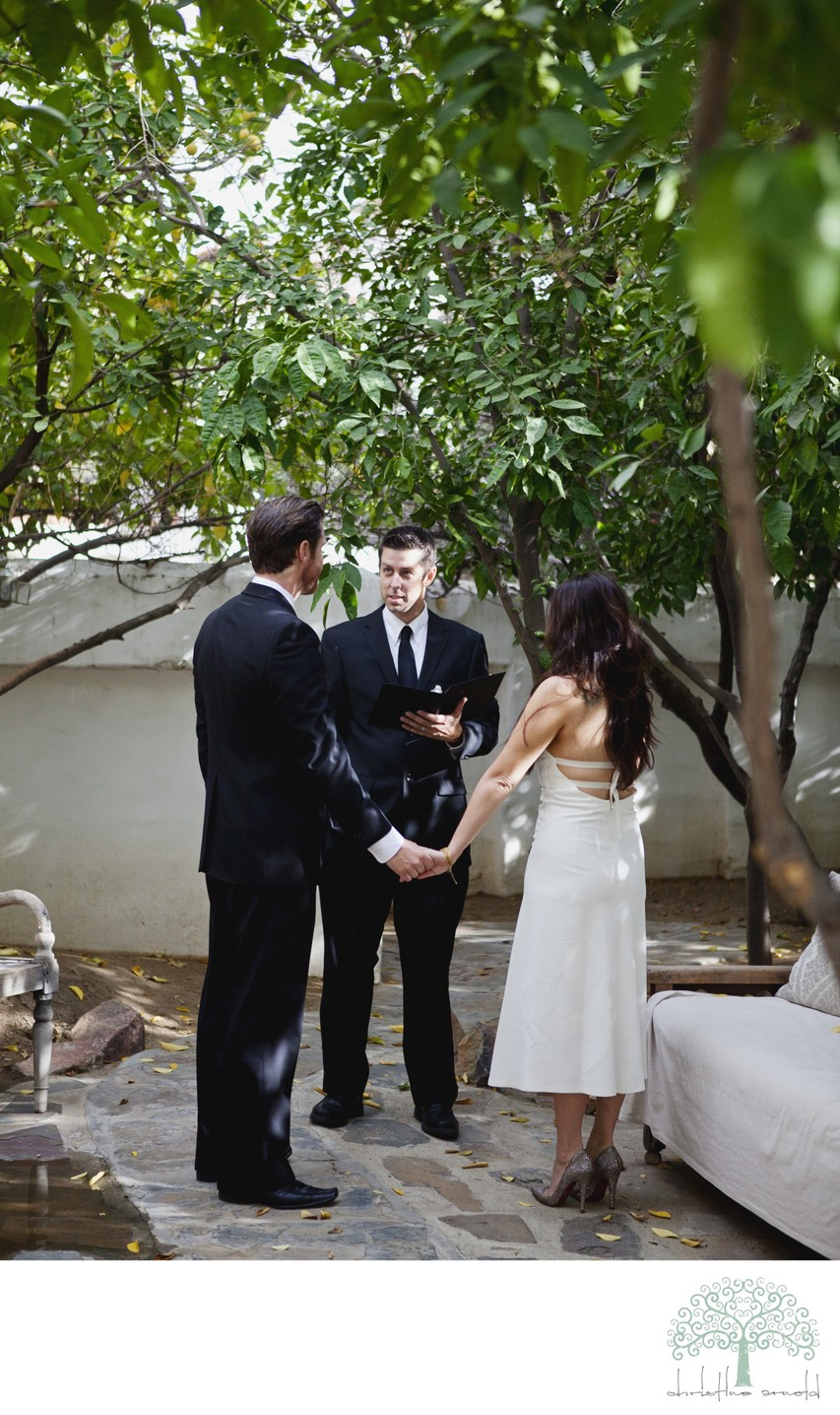 Palm Springs Small Wedding and Elopement Photos
