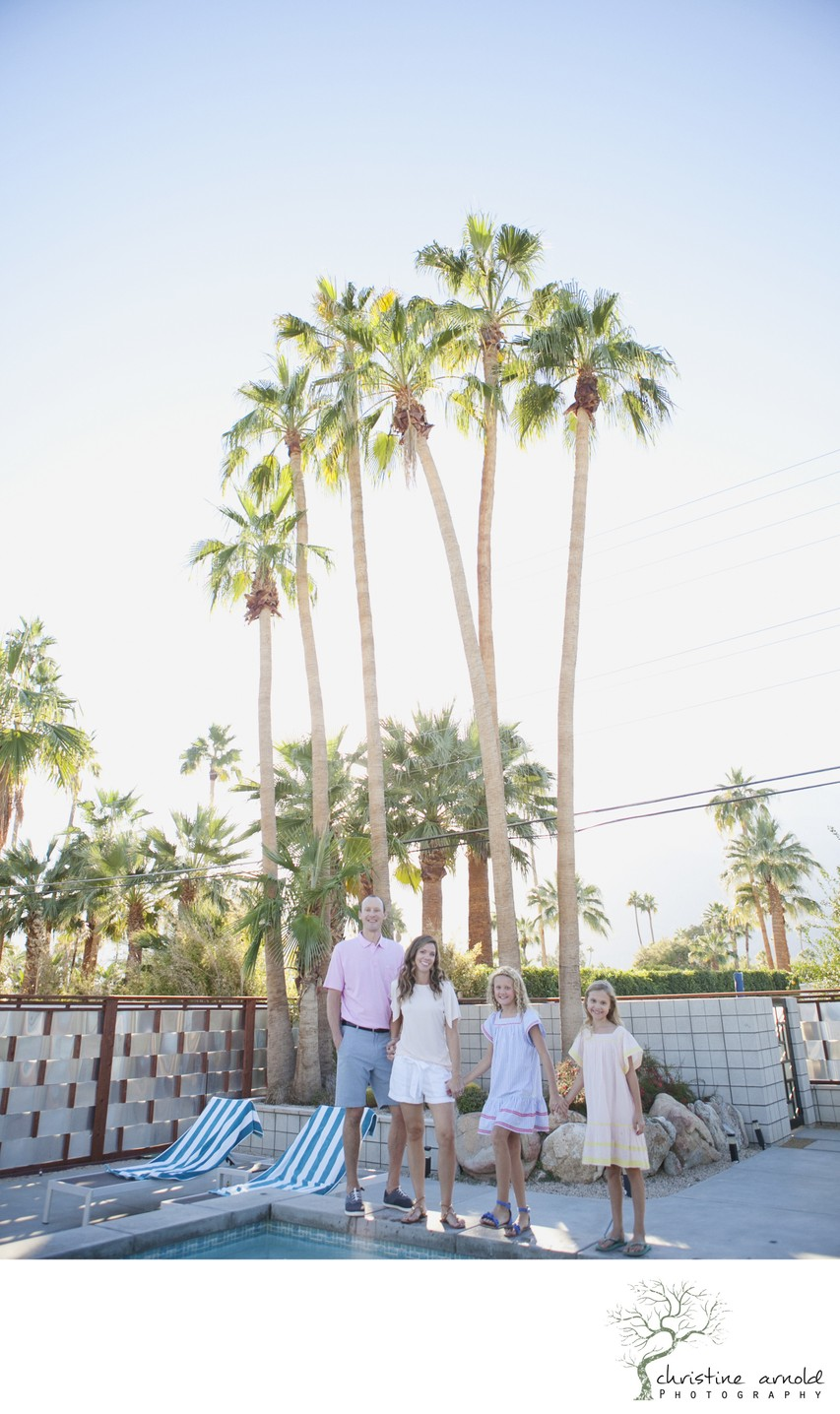 Palm Springs lifestyle family photographer