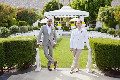 Avalon Palm Springs Same sex LGBTQ Wedding Photography