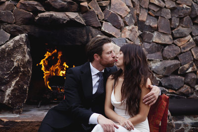 Elopement at Korakia Pension, Palm Springs California