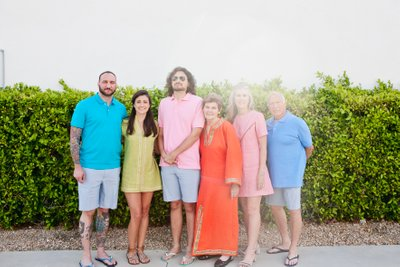 Best Palm Springs mid-century family photographer